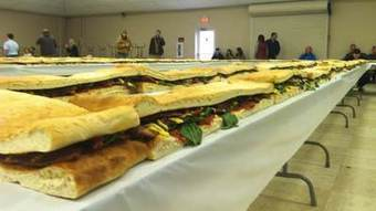 World's largest BLT built in LaPorte - WSBT-TV | Fabulous Chefs, And The Last Word in Today's Cuisine | Scoop.it