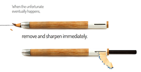Ingenious Pencil+ Design Includes a Built-In Sharpener | What's new in Design + Architecture? | Scoop.it
