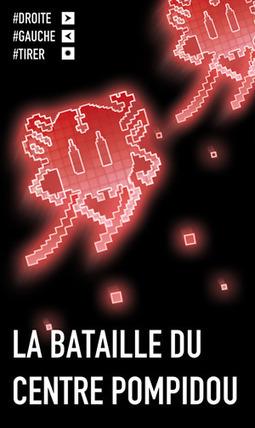 La bataille du centre Pompidou @ La nuit des musées 2011 | Florent Deloison | blog | Musée participatif et collaboratif | Scoop.it