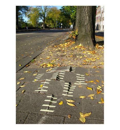 Dominique Teufen: Repairing the city with tape   urbanshit.de   On dit quoi ?   Scoop.it