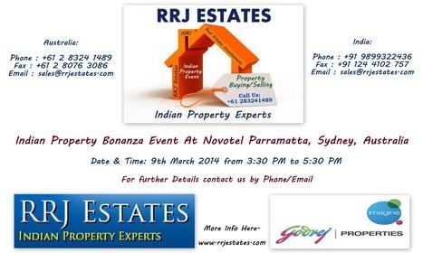 Indian Property Bonanza Event At Novotel Parramatta, Sydney, Australia | NRI Property Buying & Selling in India | Scoop.it