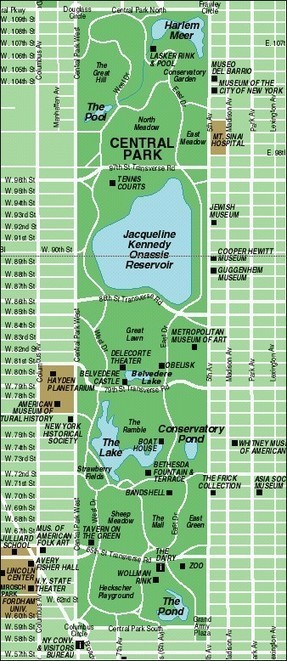 Manhattan Map: NYC Maps - New York Attractions Guide | New York Attractions | Scoop.it
