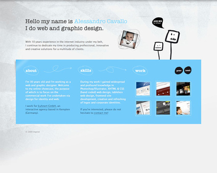 Beauty, Warmth and Color In Website Design [50 Examples + Marty Note] | Design Revolution | Scoop.it