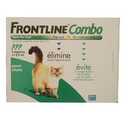 frontline combo spot-on chat 3 pipettes (MERIAL) | CaniCatNews-actualité | Scoop.it