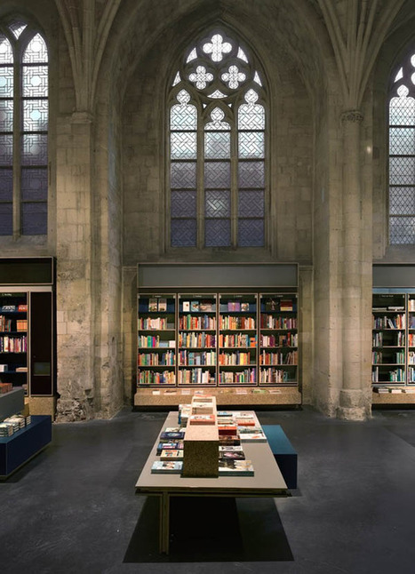 Amazing Dutch Church Reconversion into Contemporary Library | Design | News, E-learning, Architecture of the future at news.arcilook.com | Library design and architecture | Scoop.it