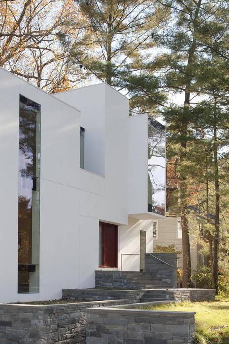 ARCKiT >§< Irregular Shaped House Explores Ambiguous Modern Architecture ... | ART ~ Design ~ Cooltour | Scoop.it