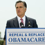Romney Touts Mass. Health Law He's Sworn Not To Implement | Election by Actual (Not Fictional) People | Scoop.it