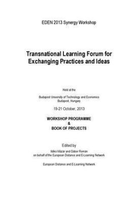 Synergy Workshop 2013 Book of Projects   Open Flexible and E-Learning Knowledge Base   Scoop.it