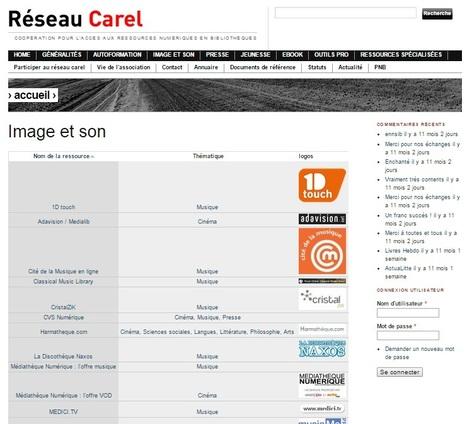 Les ressources musicales inscrites au catalogue CAREL   -thécaires   Espace musique & cinéma   Scoop.it