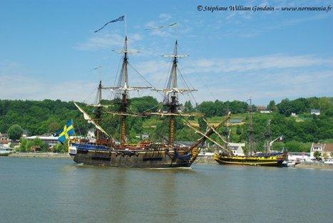 Voilier Gothebörg – bateau – Suède – Armada 2013   www.normannia.fr   Bateaux et Histoire   Scoop.it