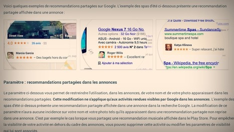 Google se sert de votre image pour ses pubs, mais vous pouvez décider du contraire | Je suis diplômée. Ça n'offre pas de taf, mais c'est cool. | Scoop.it