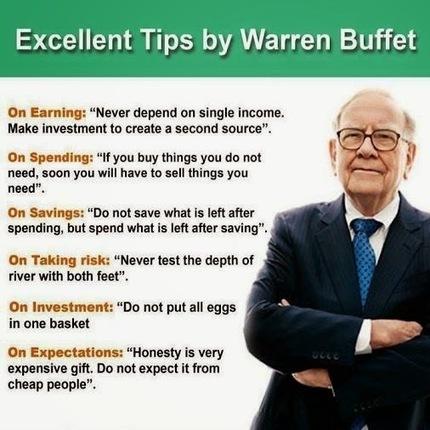 Credit Business: Exellent Tips From Warren Buffet   Free SEO   Scoop.it