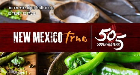 #NewMexicoTrue & 505 Southwestern Sweepstakes | Tourism Social Media | Scoop.it
