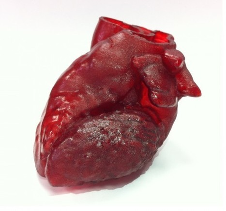 3D-Printed Heart Saves The Life Of A 14 Month Old Kid | Digital Design and Manufacturing | Scoop.it