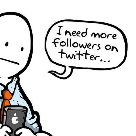 The Danger of Gaining More Twitter Followers | DV8 Digital Marketing Tips and Insight | Scoop.it