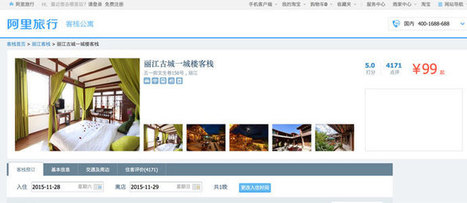 Alibaba's Alitrip has a distinctive travel model - Tnooz | Hospitality and beyond! | Scoop.it