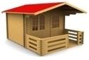 Casette in Legno da Giardino - Case in Legno prefabbricate | Design e arredamento | Scoop.it