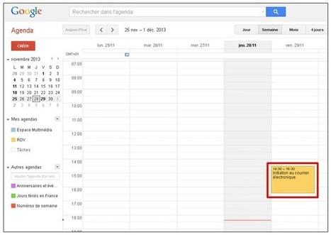 Remplir un agenda Google depuis un formulaire Google Drive | netnavig | Scoop.it