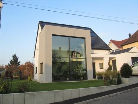 Maison certifiée Passive et BEPOS | Maison Innovante | Solutions béton pour maisons individuelles performantes | Scoop.it