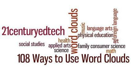108 Ways to Use Word Clouds in the Classroom | The eLearning Site | Web 2.0 - Word Clouds, Charting, BrainStorming | Scoop.it