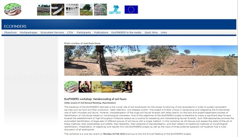 The project website   EcoFINDERS -  Science for a sustainable use of soils   Scoop.it