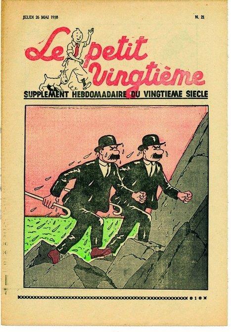 Pourquoi il faut voir l'expo Tintin au Grand Palais  | Le Bonbon | Médias sociaux et tourisme | Scoop.it