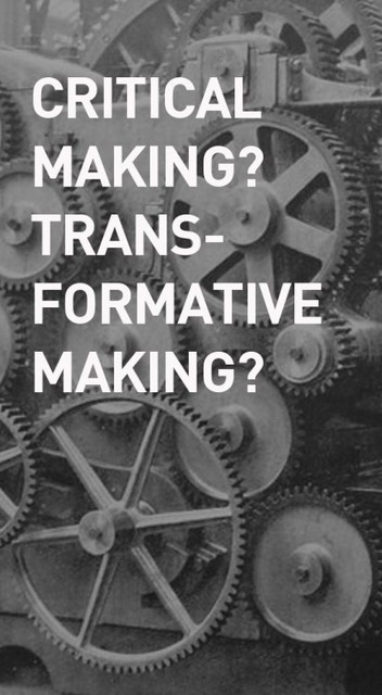 Transformaking 2015 is a summit that brings together makers, scientist, hackers, bricoleurs, researchers, artists, designers and other interdisciplinary practitioners from across the globe. | confettis | Scoop.it
