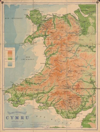 National Library of Wales Blog | The History of Wales in 12 Maps | Navigate | Scoop.it