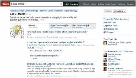 5 ways to harness the marketing power of Quora | Marketing Strategy and Business | Scoop.it
