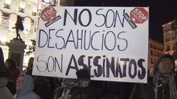 Spain parliament agrees to debate eviction law - euronews | LEGAL CENTRE | Scoop.it