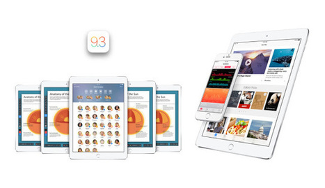 Two Guys and Some iPads: Apple's iOS 9.3 Brings MAJOR News for iPads in Education! | Technology Education 21stcentury | Scoop.it