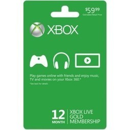 Xbox LIVE 12 Month Gold Membership Card | Kodivices | Scoop.it