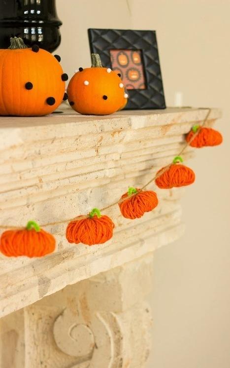 Design Improvised: Yarn Pumpkins | Crafts To Make | Scoop.it