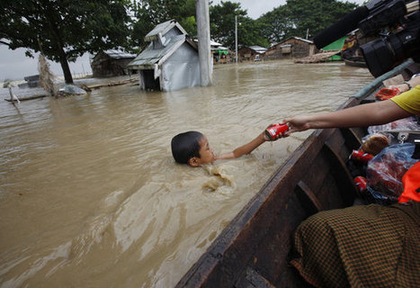 Nearly One Million Affected By #Flooding In #Myanmar | Messenger for mother Earth | Scoop.it