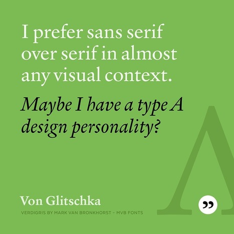 Typethos: Thoughts on Type from Type People by Bill Dawson | Design | Scoop.it