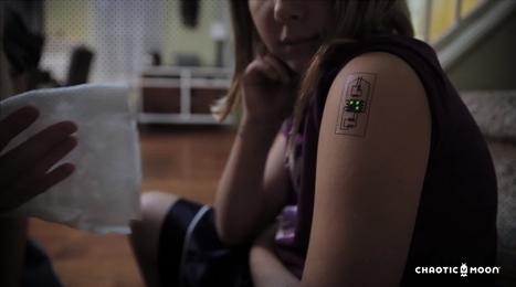 'Tech Tats' Are Temporary Tattoos for the Casual Biohacker | DigitAG& journal | Scoop.it