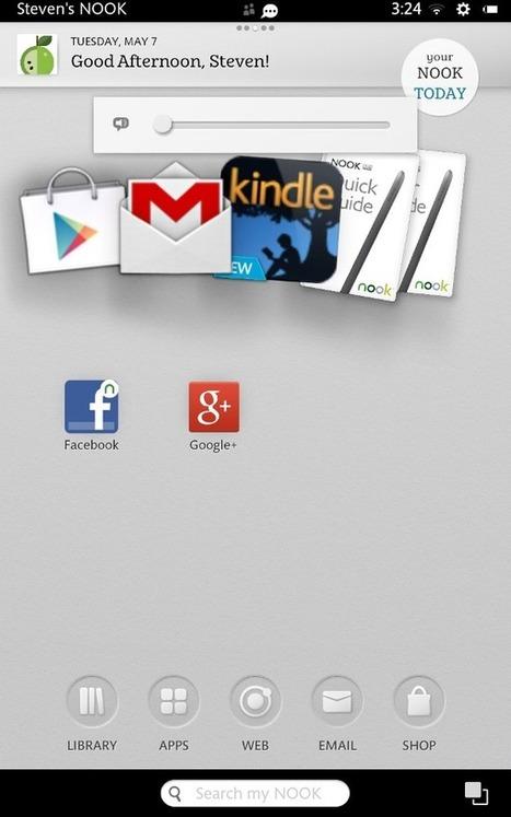 New software upgrade turns Nook HD into good Android tablet (Review) - ZDNet | La Tecnológia al día | Scoop.it