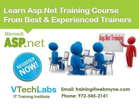 Asp Dot Net Training for IT Students in Vadodara | VTechLabs | Scoop.it