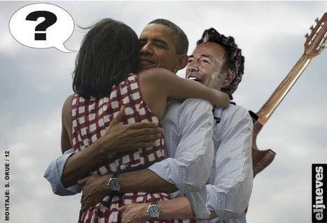 Obama, le vignette sulla rielezione  sui social network | JIMIPARADISE! | Scoop.it