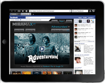 Miramax Brings Streaming Movie Rentals to Facebook | Social1 | Scoop.it