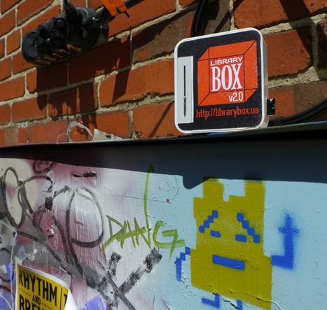 LibraryBox 2.0, le partage open source des ebooks en bibliothèque | Le numérique au SLP | Scoop.it