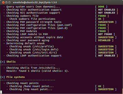 How to scan Linux for vulnerabilities with lynisCome eseguire una scansione per verificare vulnerabilità di Linux con lynis | opexxx | Scoop.it