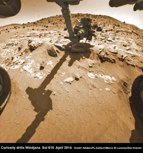 Curiosity Bores into Kimberley rock after Inspection Unveils Enticing Bump | Vloasis sci-tech | Scoop.it