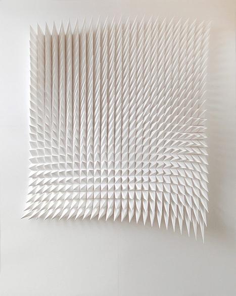New Geometric Paper Art from Matthew Shlian | Colossal | Amazing Paper | Scoop.it