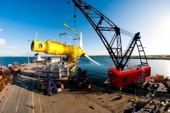 Alstom presentará mañana en Bilbao sus turbinas submarinas - Energías Renovables, el periodismo de las energías limpias. | Noticias de Ciencias | Scoop.it