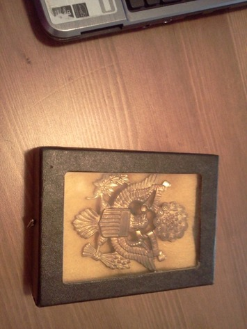 WW2 US ARMY Officer Hat Buckle | Antiques & Vintage Collectibles | Scoop.it