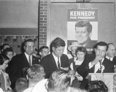 A touch of Camelot in Kansas: Remembering the night John F. Kennedy came to ... - Kansas City Star | History Education | Scoop.it
