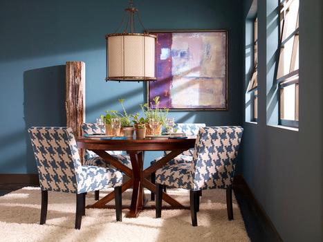 Pattern Focus: Houndstooth   Designing Interiors   Scoop.it