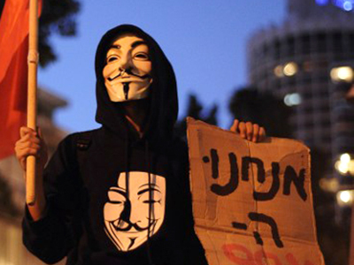 Anonymous warns Israel: 'No one cuts internet on our watch!' — RT | Innovation sociale et management | Scoop.it