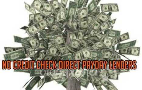 Payday Lenders No Credit Check | pitbn | Scoop.it